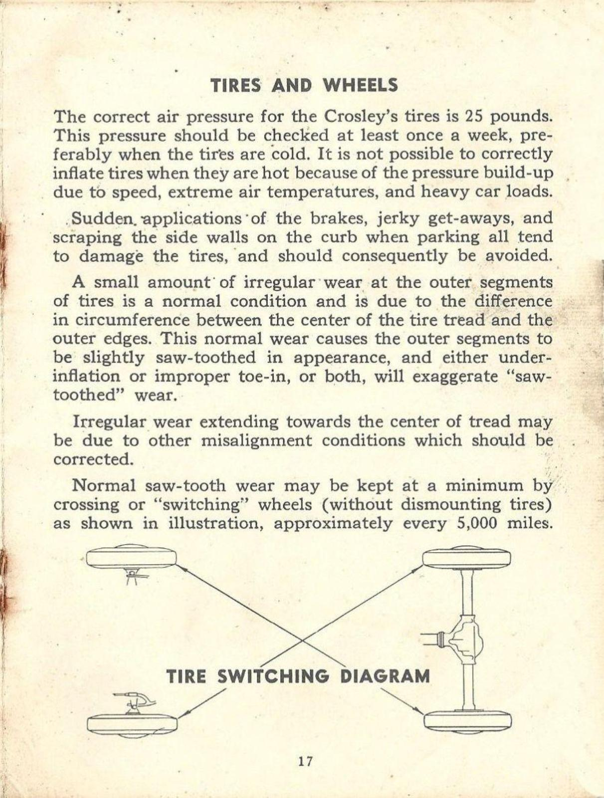 Index Of Cars Manuals Crosley 1947 Owners Manual Files Res Car Wiring Diagram Mobile
