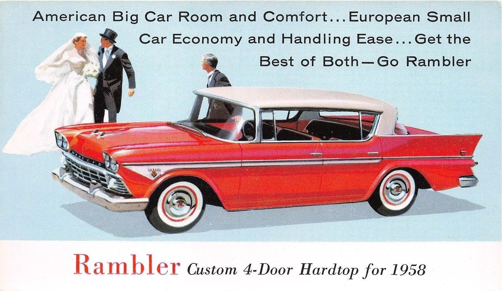 1958 Rambler Postcard