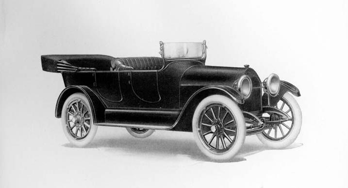 Výsledek obrázku pro 1914 Chevrolet Light Six Touring Car