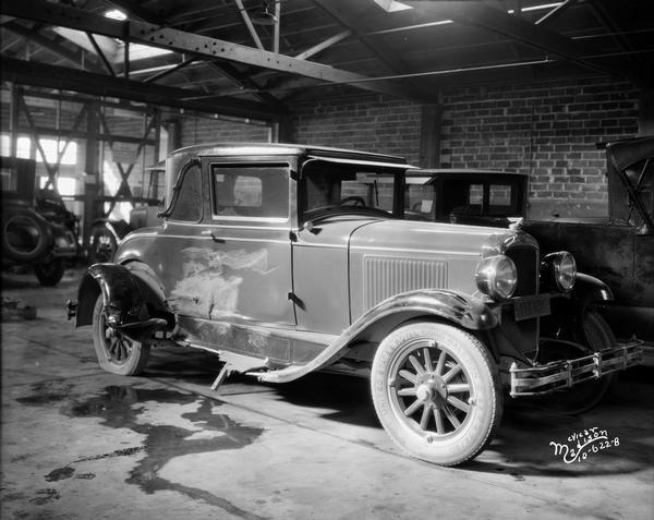 1928 Pontiac in Body Shop